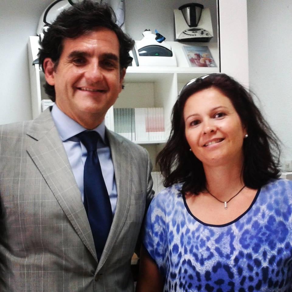 VISITA DE D. IGNACIO FERNÁNDEZ-SIMAL
