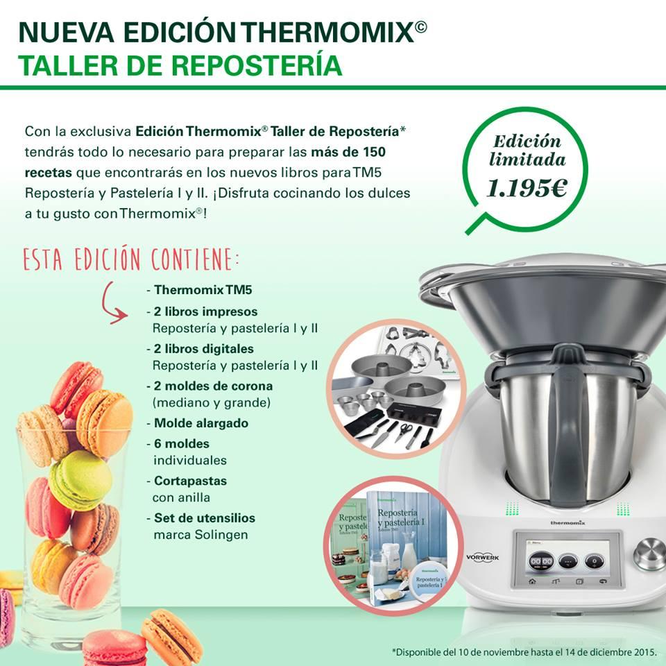 Oferta thermomix navidad edici n taller de reposter a - Varoma thermomix precio ...