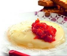 Tomate confitado con queso provolone con Thermomix®