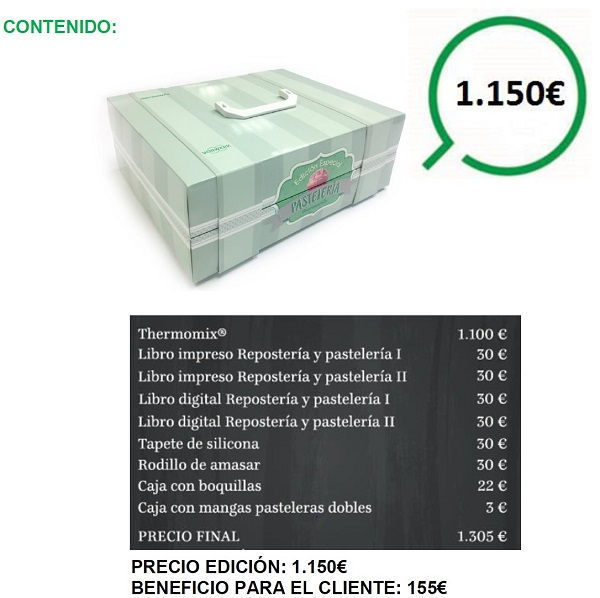 "Promoción ""Thermomix® Edición Especial Repostería"" rebajada!!"
