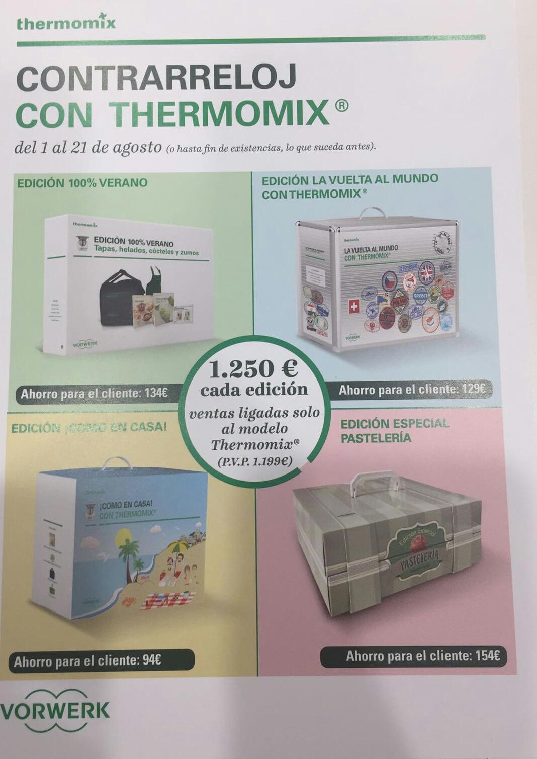 CONTRARRELOJ CON Thermomix® VERANO 2017!!!