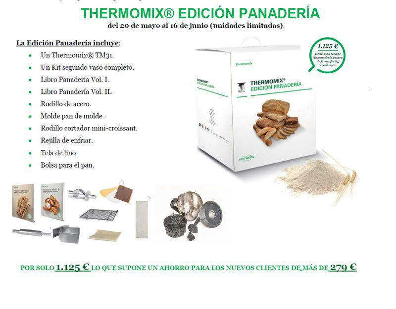 NUEVA PROMOCION Thermomix® EDICION PANADERIA