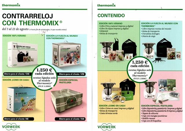 Oferta Thermomix® contrarreloj