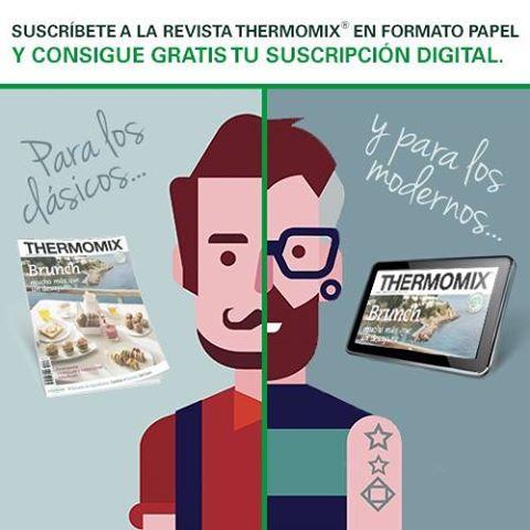 Las suscripciones a la revista Thermomix® ¡Tienen premio! Hasta el 22 de Junio
