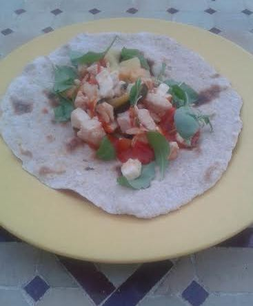 Wraps de pollo con Thermomix®
