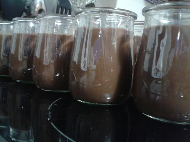 Yogur de chocolate con Thermomix®
