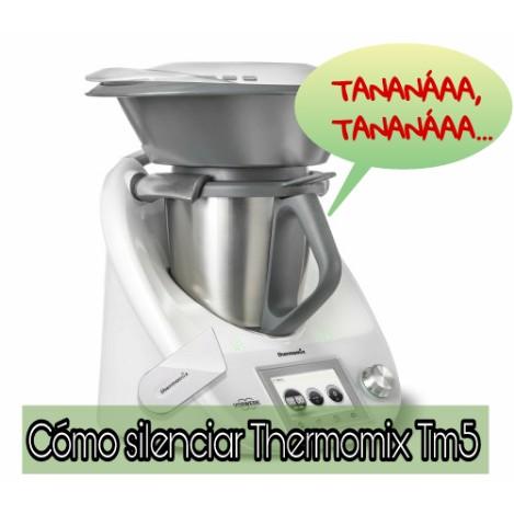 Cómo quitar el sonido a Thermomix® TM5