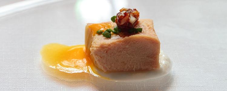 Paté de hígado de pollo al Luis Felipe.