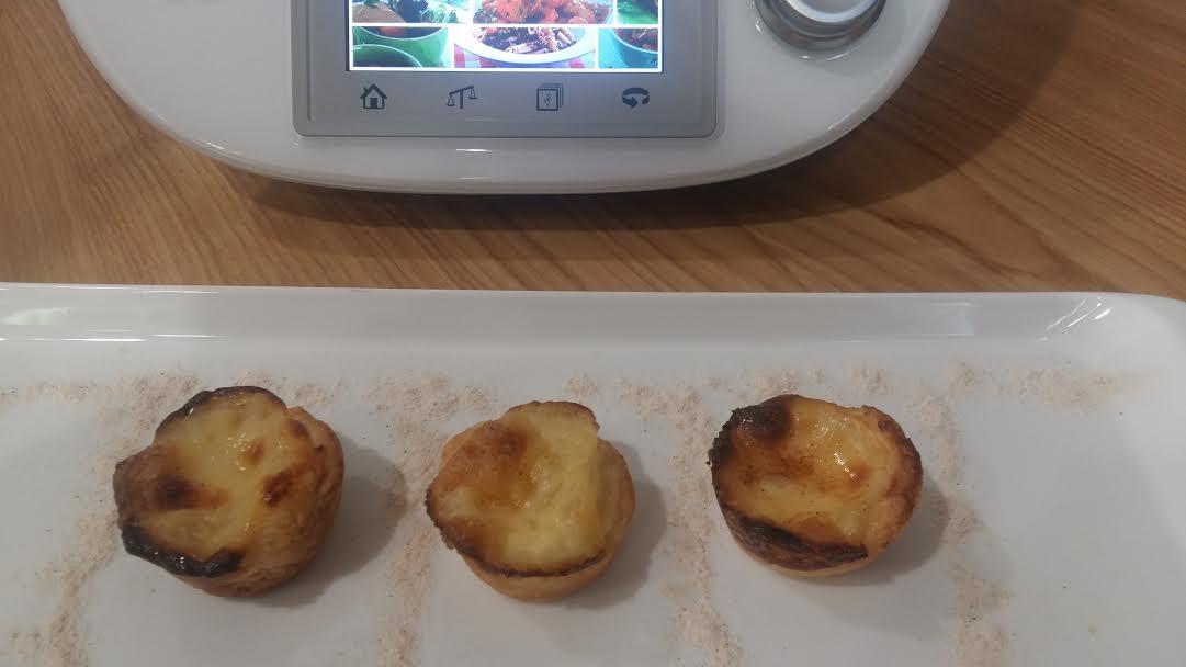 Pasteles de Belém con Thermomix®