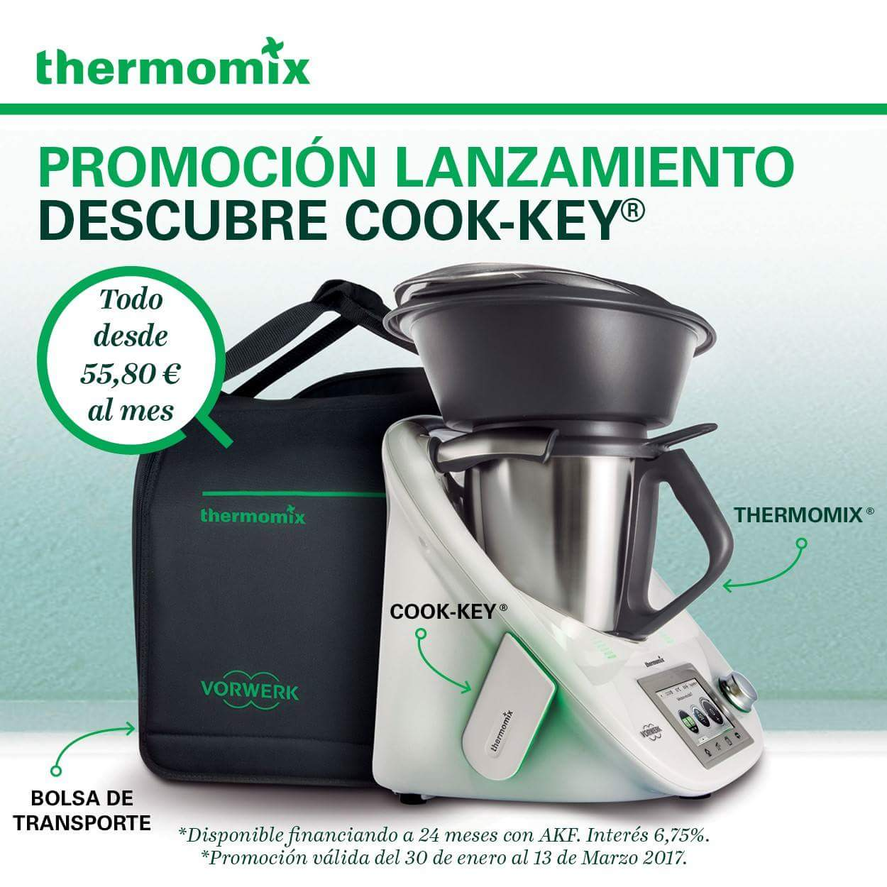 Oferta lanzamiento Cook-key Thermomix®