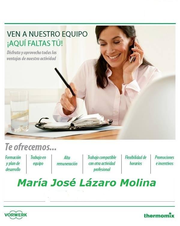 FORMA PARTE DE MI EQUIPO Y GANA TU Thermomix®