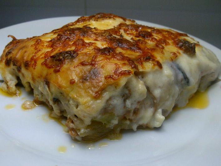 Moussaka de pollo con Thermomix®