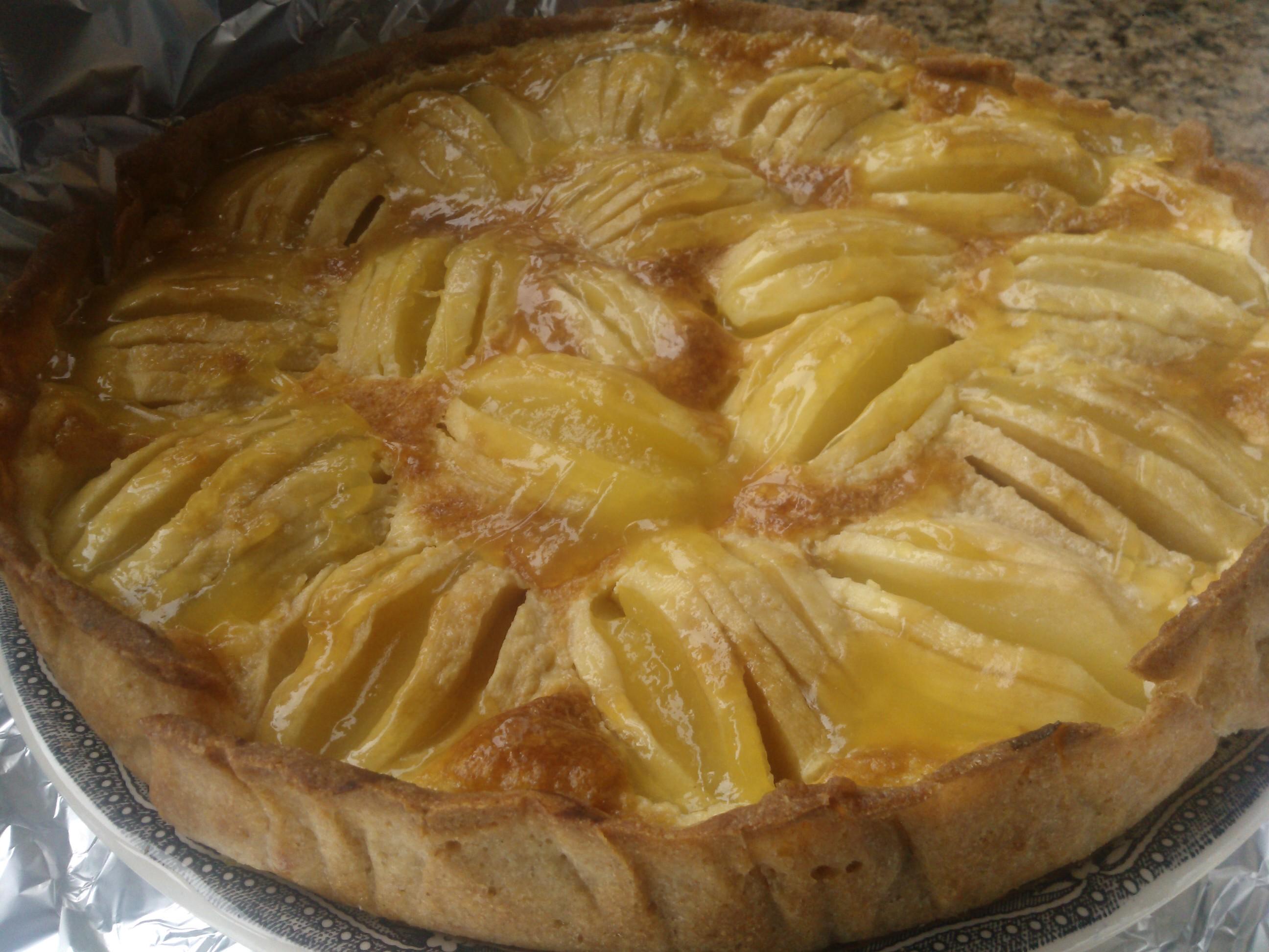 Tarta de Manzana francesa con Thermomix®