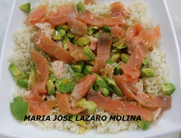 ENSALADA NORDICA DE SALMON