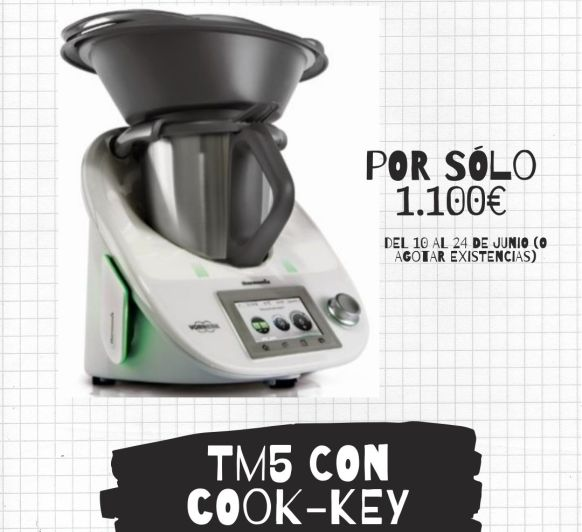 ¿¿¿Thermomix® TM5 O Thermomix® TM5 CON EDICIÓN???