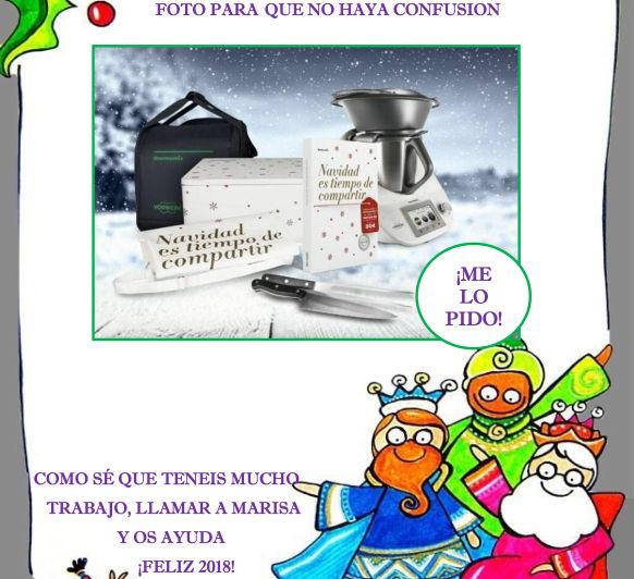COMO PEDIR UN Thermomix® A LOS REYES MAGOS
