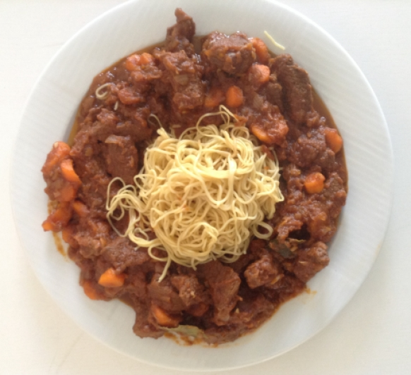 Goulash de ternera con TM5