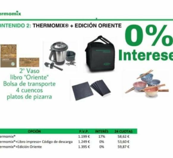¡¡ Thermomix® TM5 AL 0% INTERÉS ¡¡