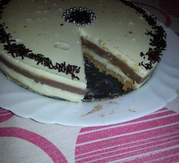 Tarta de 3 Chocolates Thermomix®