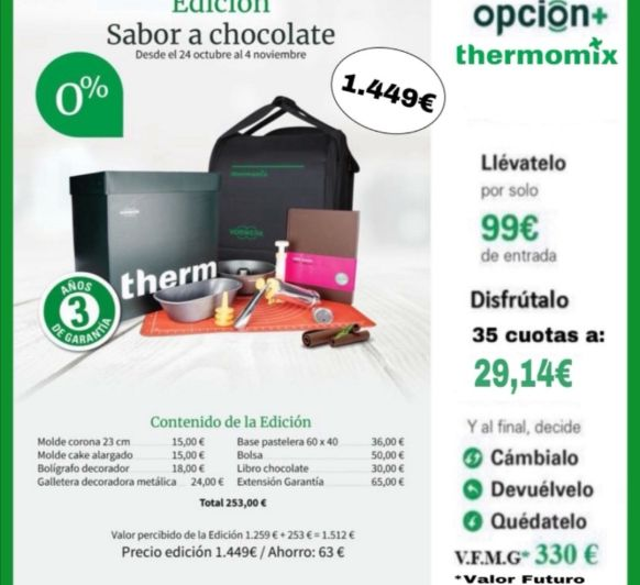 Edición Sabor a Chocolate 0% Intereses!!!