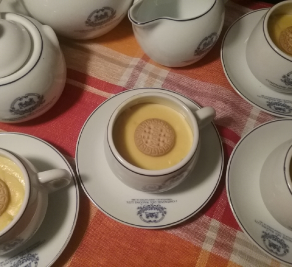 Crema de galletas