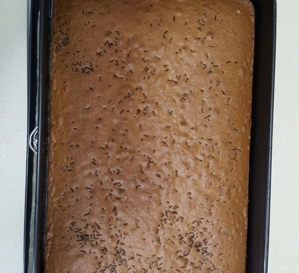 Bizcocho de chocolate en Thermomix®