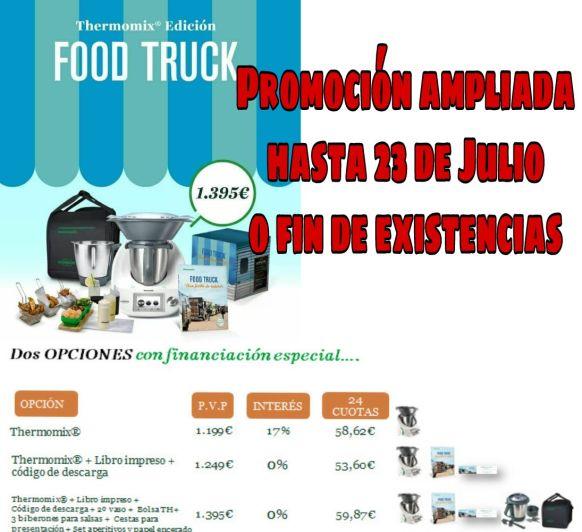 Nueva promoción FOOD TRUCK! Compra tu Thermomix® Sin Intereses!