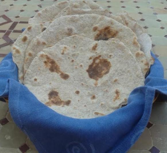 Pan rápido a la plancha con Thermomix®