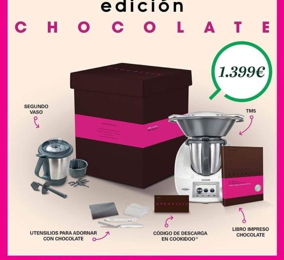 EDICIÓN CHOCOLATE AL 0% INTERÉS