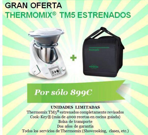 AGOTADA - Gran Oferta Thermomix® Km 0 / Seminuevas por 899€