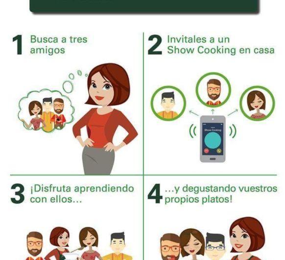 SHOW COOKING o cómo pasar un buen rato cocinando con amigos