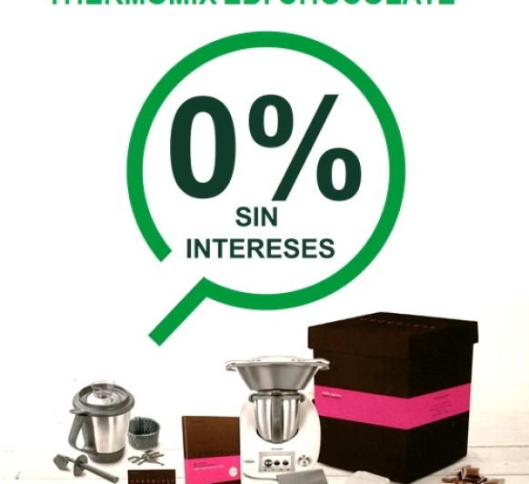 Oferta!! Thermomix® sin intereses