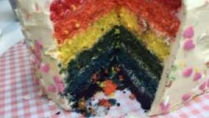 TARTA RAINBOW CAKE (MULTICOLOR)